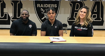 Randall's Tavian Combs talks on signing with the University of New Mexico