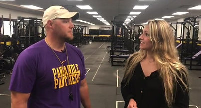 Press Pass Sports intern Corrin Davis chats 1-on-1 with Panhandle football coach Dane Ashley