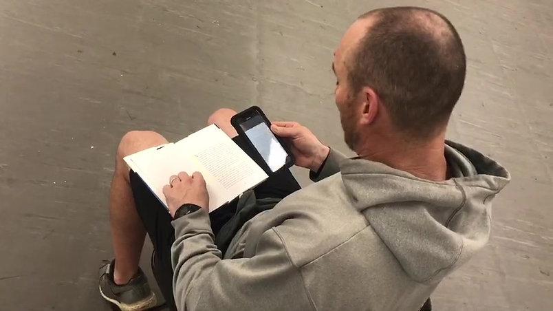 Canadian football coach Andy Cavalier sends daily positivity to students through social media