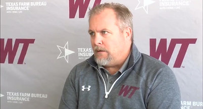 WT head football coach Hunter Hughes talks about his 2020 signing class