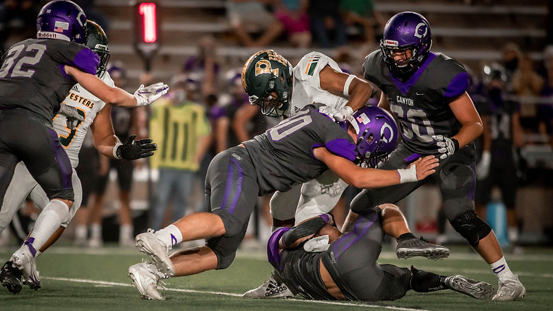 Canyon stifles Pampa in District 3-4A Div. I opener