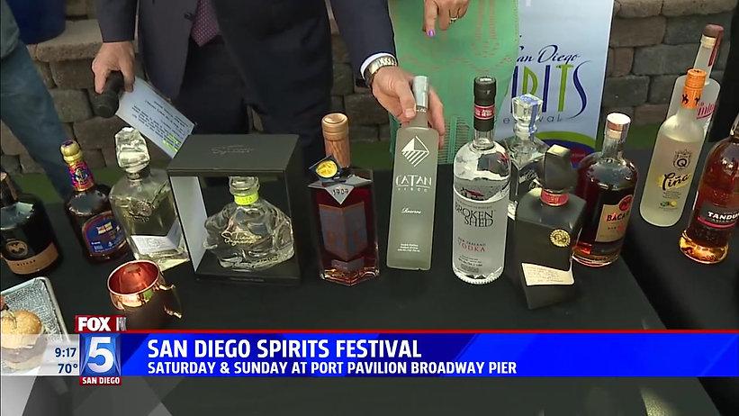 Fox 5 previews 2019 SD Spirits Festival