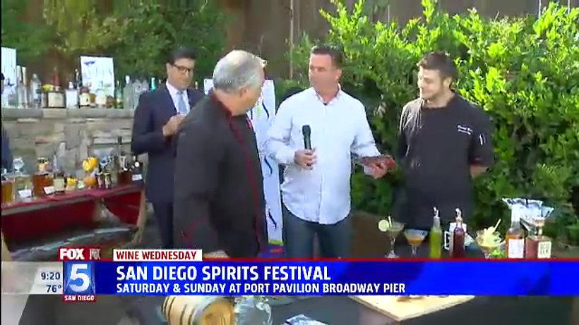 Fox 5 Previews 2018 SD  Spirits Festival