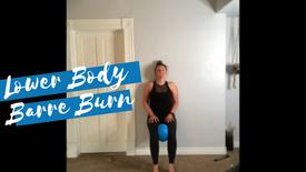 Lower Body Barre Burn