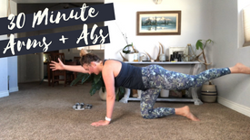 Barre Style Arms + Abs