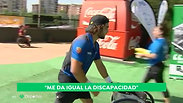 'Vale la pierna': Con este lema, Daniel Caverzaschi ha llegado a ser el 'Rafa Nadal del tenis en silla de ruedas'