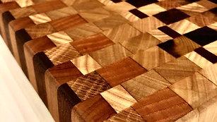Poplar and Exotic wood board