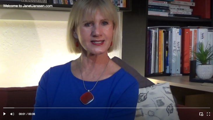 Welcome Message from Janet Janssen