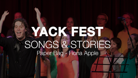 Yack Fest, Paper Bag - Fiona Apple 2017