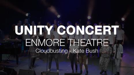Unity Concert Finale, Cloudbusting - Kate Bush 2017