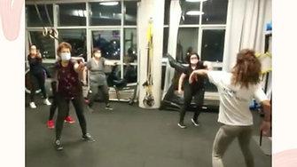 אימון ריקוד, תנועה וכוח