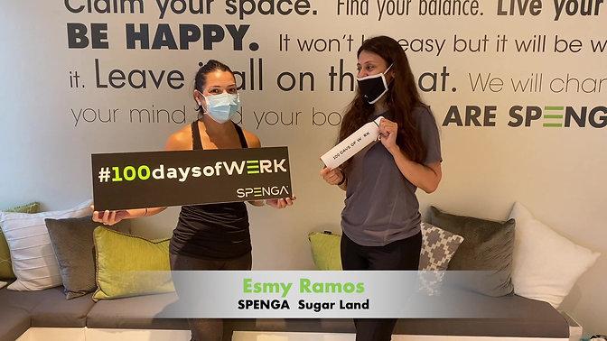 100Days of Werk with Esmy