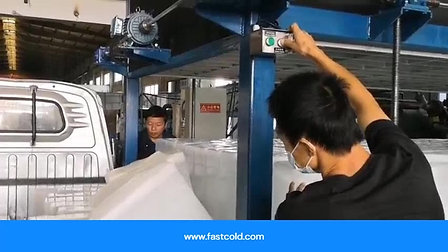 Máquina de Hielo Bloque