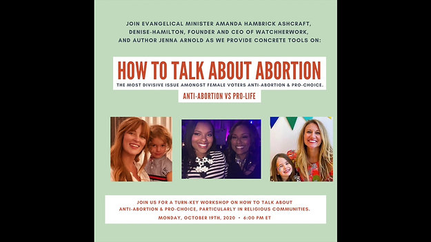 How To Talk About Abortion With Folks You May Not Agree With