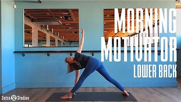 Morning Motivator   Lower Back