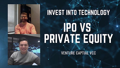 Venture Capital  -  Invest into publicly traded tech companies vs private tech companies