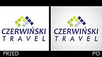 Czerwiński Travel - animowane logo