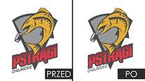 Chojnickie Pstrągi - animowane logo