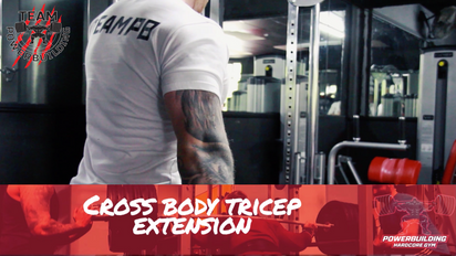 Cable Cross Body Tricep Extension