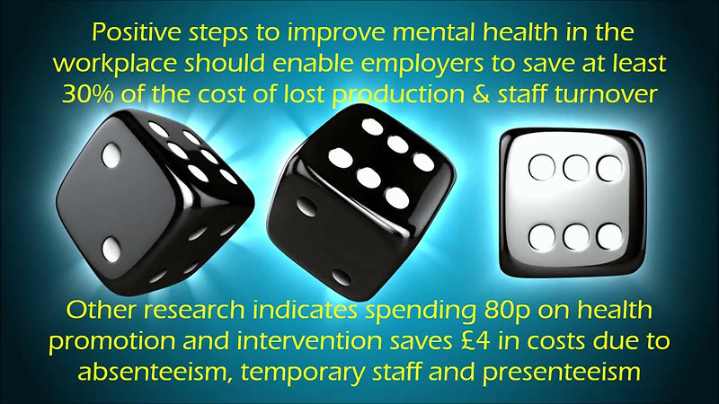 Don't gamble with your wellbeing