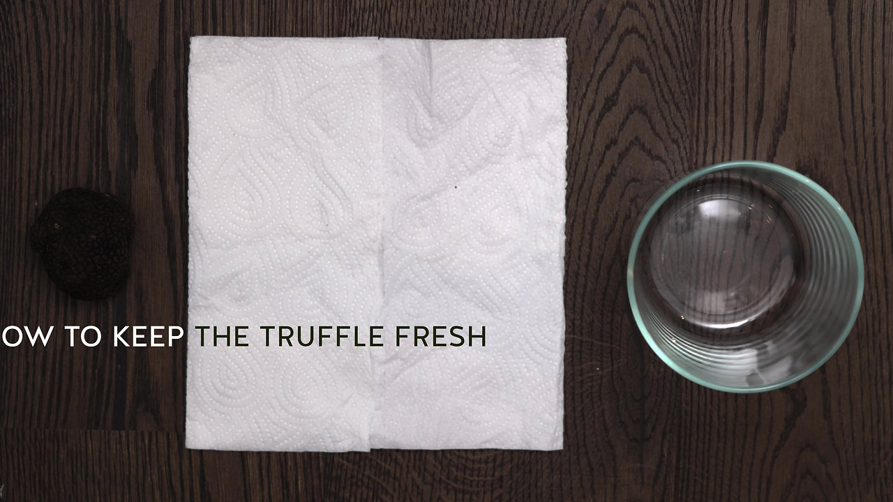 How to preserve truffles