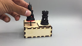 Chess Produced with Digital Fabrication