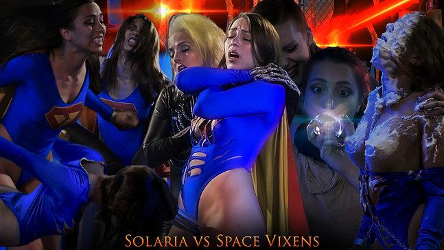 Solaria vs Space Vixens