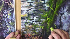 Textures in Pastel- Foliage and Finishing