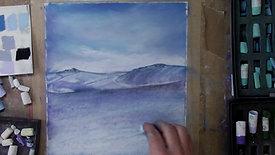 Snow below High Edge 3