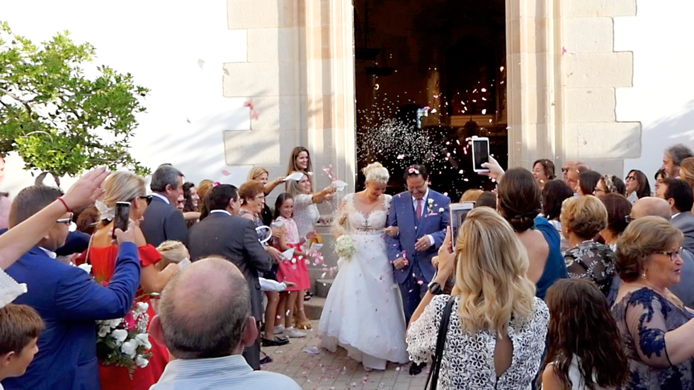 Video Highlights from Spain Wedding