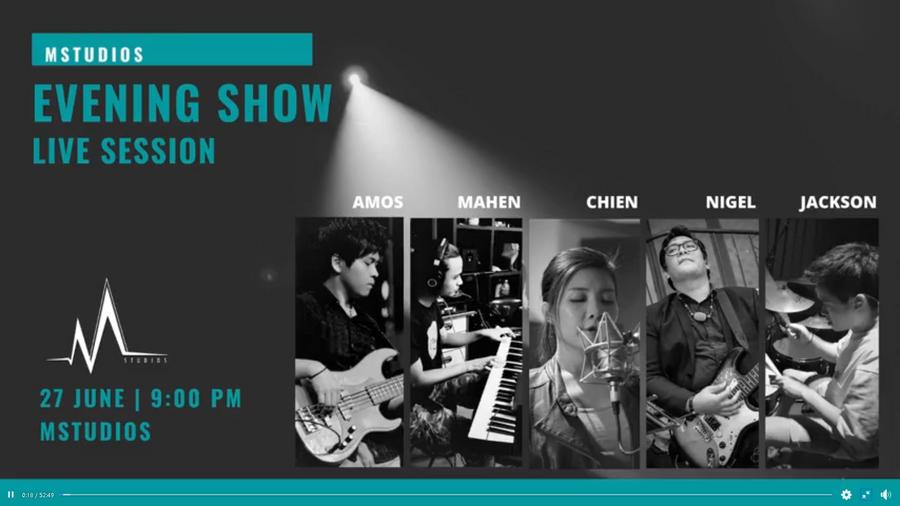 MStudios Live Broadcast