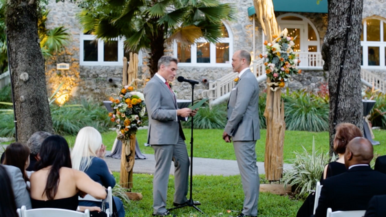 Ted and Mark's Wedding at the Woman's Club of Coconut Grove: 2.4.17