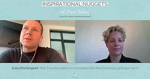 """Inspirational_Nuggets mit Marco Niebling - """" Zukunftsfähigkeit_ Wie Transformation im schwäbischen Maschinenbau gelingen kann"""" (1)"""