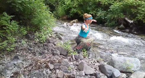 Спонтанный цигун Яшмовый ручей 2 часть