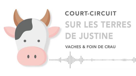 SUR LES TERRES DE JUSTINE - VACHES & FOIN DE CRAU