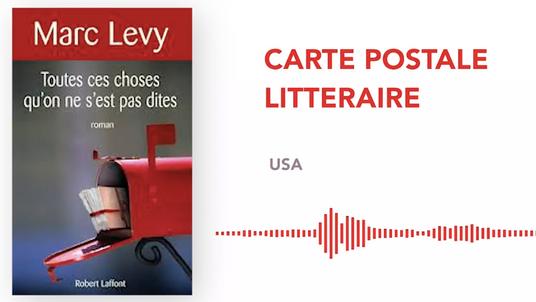 CARTE POSTALE LITTERAIRE - USA