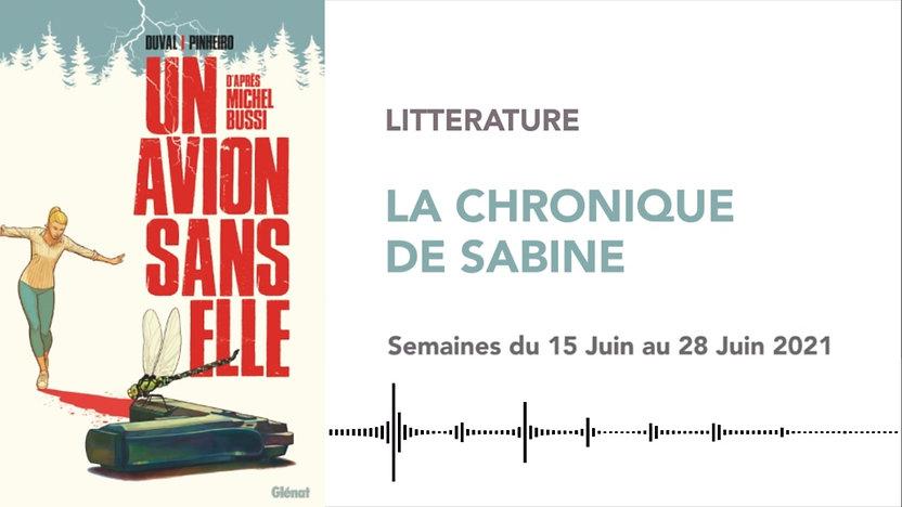 CHRONIQUE DE SABINE #40