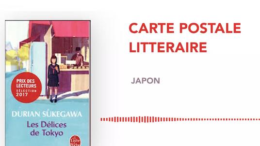 CARTE POSTALE LITTERAIRE - JAPON