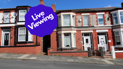 Live Viewing 26 Laburnum Road CH43 5RP