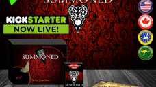 My live stream for SUMMONED going Live on Kickstarter
