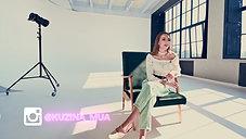 Видео-визитка для визажиста Кузиной Ксении