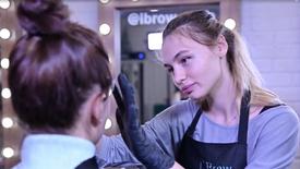 "iBrow, ТРЦ ""Монпансье"", бровист Алеся"