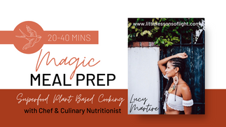 Vegan Mac N Cheese - Magic Meal Prep with Professional Plant Based Chef and Culinary Nutritionist Lucy Martire