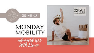 Monday Mobility with Steven live from Venice Beach. Episode 5. Little Lessons Of Light