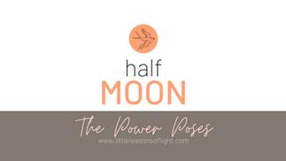 Half Moon Yoga Tutorial by Kate
