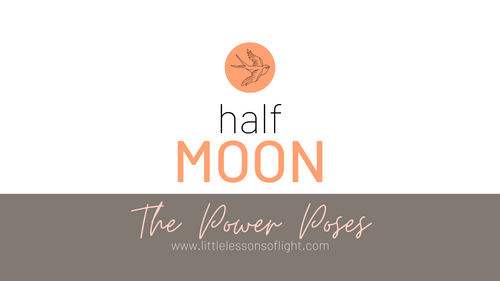 Half Moon Yoga Tutorial by Kate