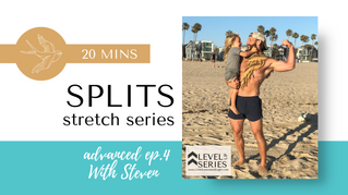 Split Stretch with Steven live from Venice Beach. Episode 4. Little Lessons Of Light