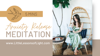 Anxiety Release Meditation with Faye by Little Lessons of Light