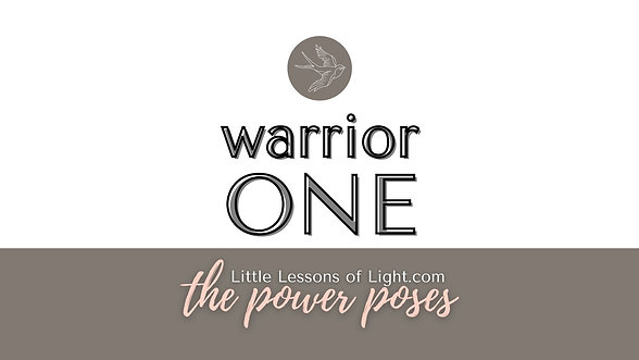 Warrior One Yoga Tutorial with Kate
