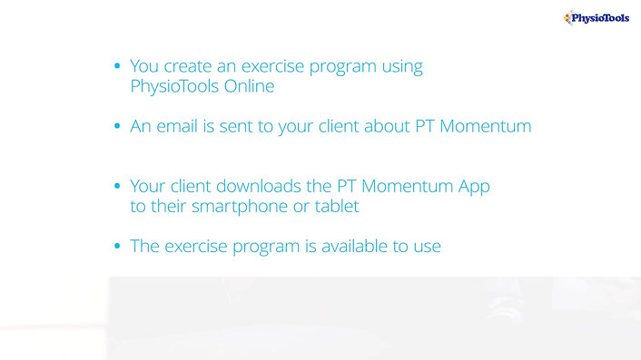 PT Momentum App motivates your clients to exercise